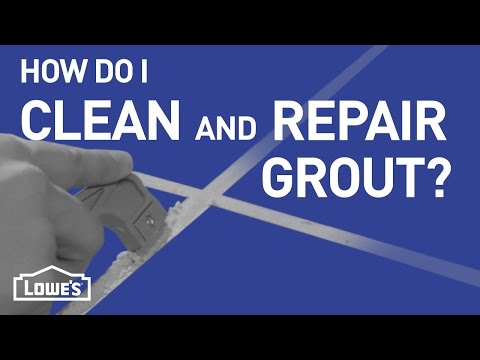 How Do I Clean and Repair Grout? | DIY Basics