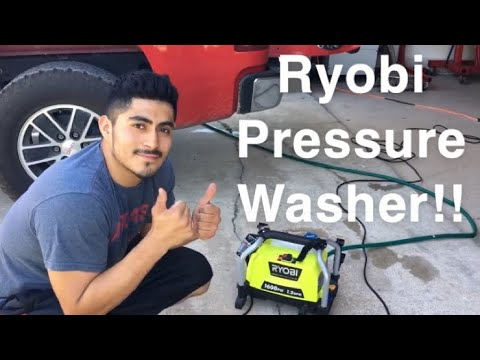 Ryobi 1600 psi pressure washer review