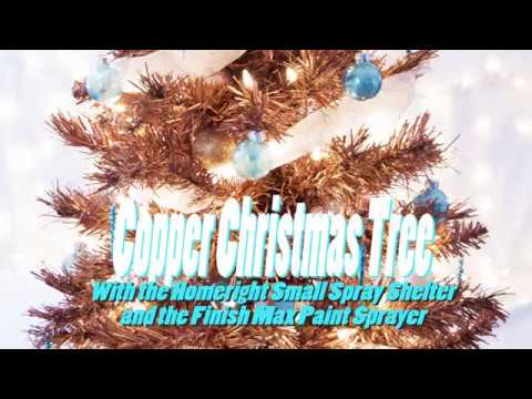HomeRight Copper Christmas Tree