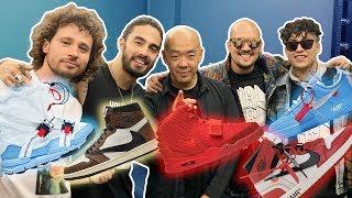 Conocimos los SNEAKERS MÁS CAROS DEL MUNDO! SneakerFever 2019