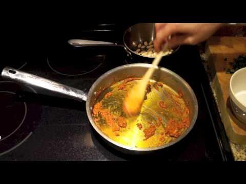 Thai Red Curry Chicken Pizza