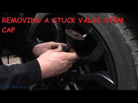 How To Remove A Stuck Corroded Valve Stem Cap