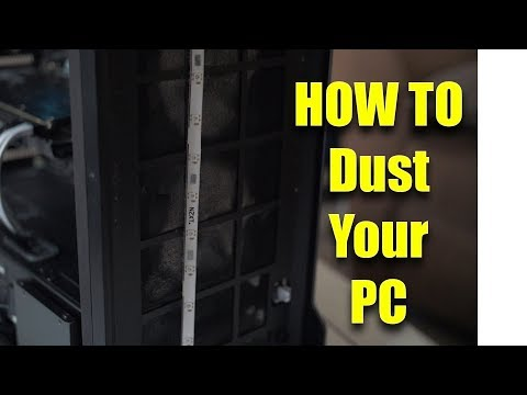 Keep Your PC CLEAN - Dusting Out Your Computer