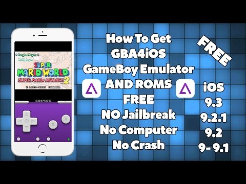 How To Install GBA4iOS Emulator & GAMES FREE iOS 9 - 9.1 - 9.2.1 / 9.3 No Jailbreak iPhone iPad iPod