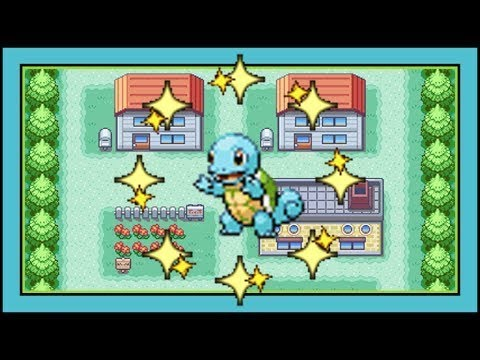 How to get Squirtle in Pokémon Leaf Green and Fire Red