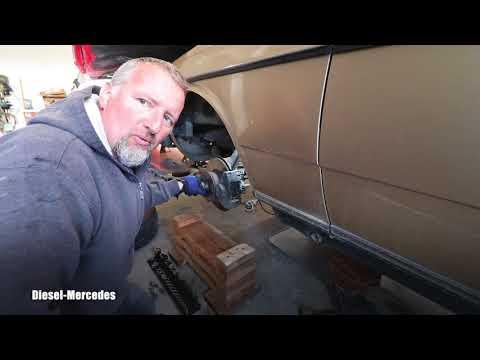 Mercedes W123 Brake Line Problem