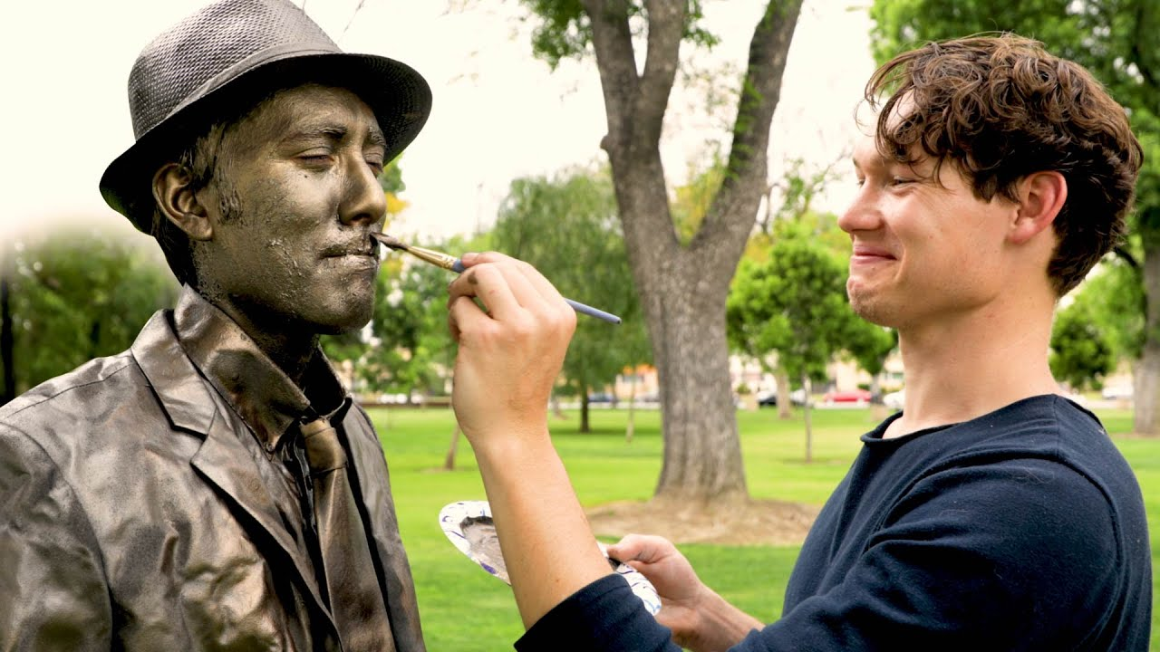 Transforming into a Bronze Statue - Magic Makers Episode 2