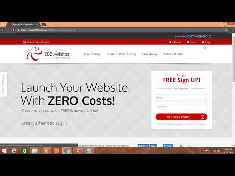 free web hosting sites  with cpanel | free domain name  | Install wordpress theme