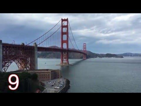 10 Tips For Visiting The Golden Gate Bridge [4k]
