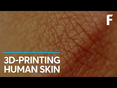 Now You Can 3D Print Completely Functional Human Skin