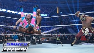 Kalisto & The Dudley Boyz vs. The New Day: WWE SmacKDown, December 31, 2015