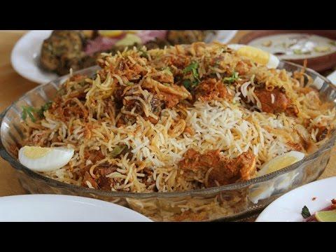 Kache Gosht Ki Biryani/ chicken biryani/ ( cooking with hadiqa )