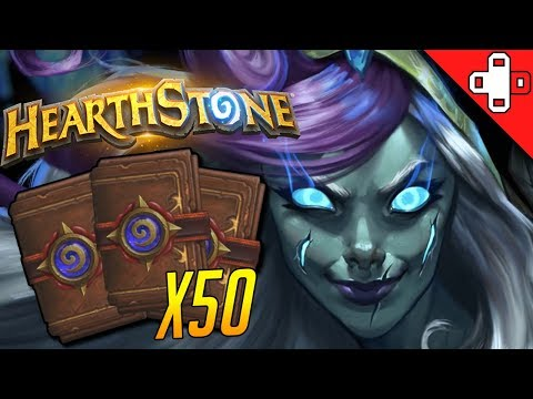 Opening 50+ Knights of the Frozen Throne Hearthstone Packs