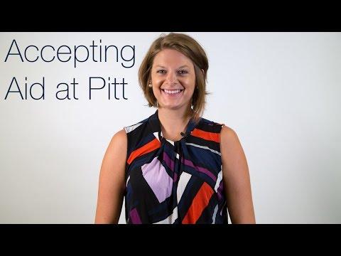 Accepting Aid at Pitt