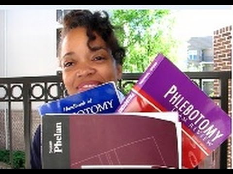 (Phlebotomy) BOOKS THAT WILL REALLY HELP!! - April 9, 2017 - Sunday Afternoon Vlog