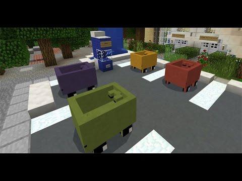 Mcpe Mine-Cars Addon