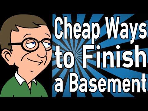 Cheap Ways to Finish a Basement