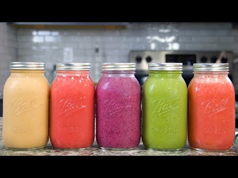 5 Must-Try SMOOTHIE RECIPES Vegan   QUICK + EASY