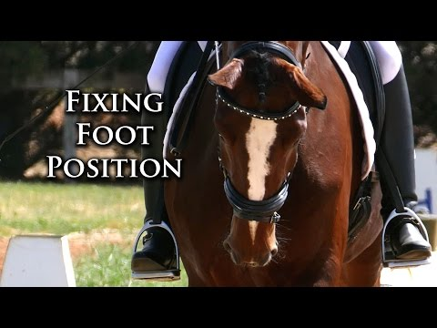 How to Position the Foot in Riding - Dressage Mastery TV Ep34