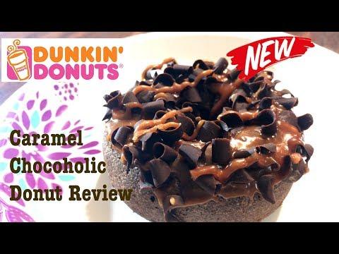 Dunkin' Donuts Caramel Chocoholic Donut Review