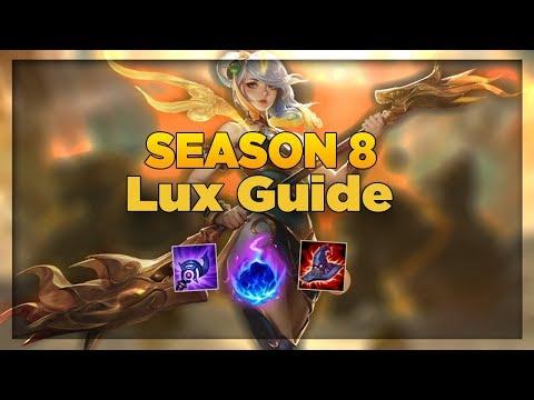 Season 8 Lux Guide - Learn Lux Basics - League of Legends