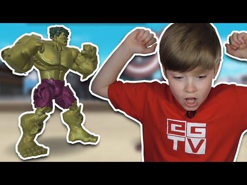 HULK SMASH!! Marvel Super Hero Mashers    Mobile Games