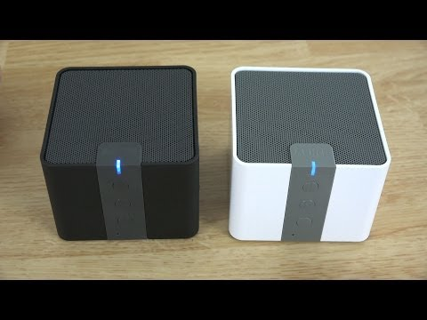 Anker MP141 Portable Bluetooth 4.0 Speaker Review (White and Black)