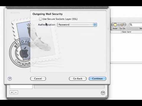 Mac Mail Setup