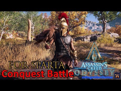 For Sparta! - Conquest Battle | Assassins Creed Odyssey Episode 13