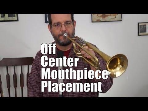 Off Center Mouthpiece Placement - Trumpet Tutorial