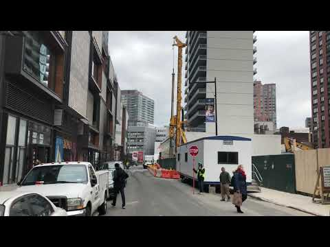 now that's a big drill, Brooklyn, New York (3-12-18)