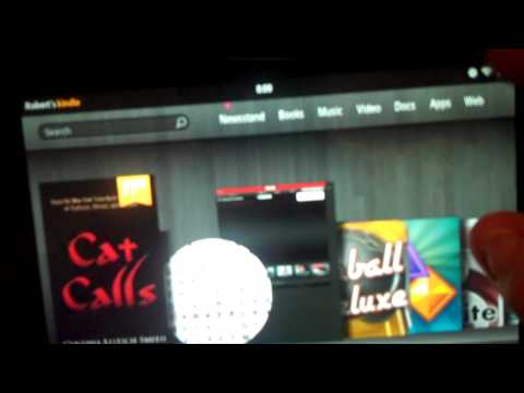 How to change the volume on an Amazon Kindle Fire