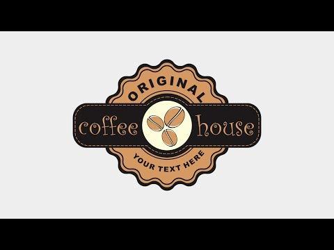 CorelDRAW Tutorial | Logo Design Coffee House