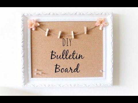 DIY Vintage Bulletin Board