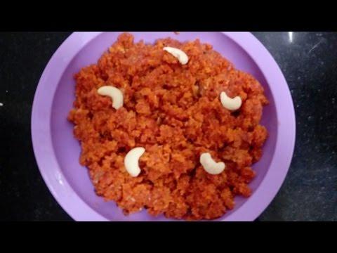 Gajar ka halwa recipe in hindi/ simple and delicious dessert