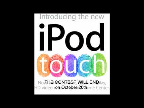 PEOPLE IN iPOD TOUCH GIVEAWAY MUST WATCH