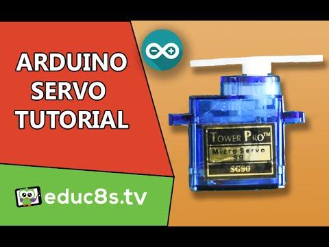 Arduino Tutorial: Using a Servo SG90 with Arduino