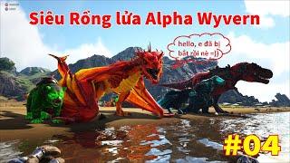 """ARK: Ragnarok Mod #5 - Siêu Rồng Lửa Alpha Wyvern và Siêu Đại Bàng """"Prime Argentavis"""" Cũng Đã Bị Bắt"""