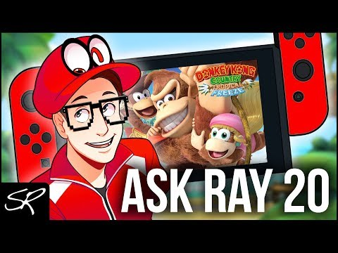 What's on my Nintendo Switch May 2018 | Ask Ray Anything #20