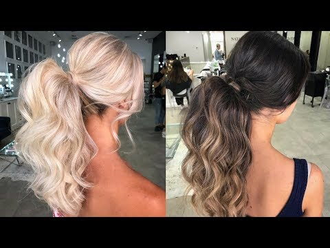 HOW TO MAKE VOLUMINOUS PONYTAIL - Voluminous Hairstyles Tutorial