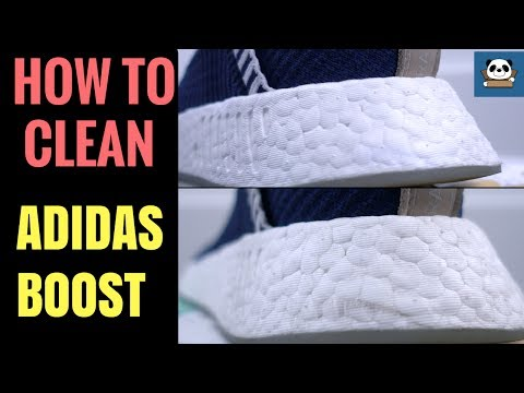 How to CLEAN and WHITEN Adidas BOOST | Cleaning NMD & ULTRABOOST