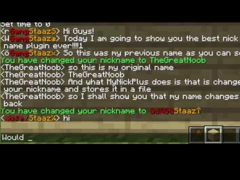 How to color your name on a Minecraft Server
