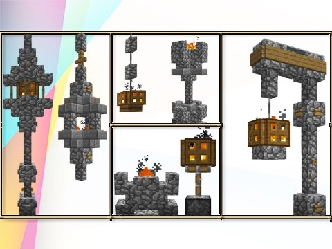 Minecraft: Build Tips & Tricks Using Fire Lighting!