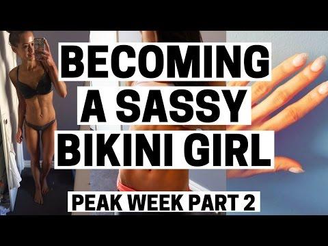 PEAK WEEK PART 2 - I'm An Oompa Loompa | The Girliest Week of my Life | Bikini Prep Ep15: 1 Day Out
