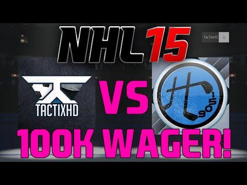 NHL 15 HUT: 100K WAGER vs HALODIEGO1509!