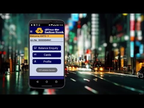 How to use India Bank Smart Remote in Tamil