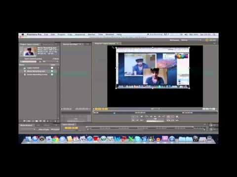 Adobe Premiere Pro CS5 - Multiple Videos in One Frame