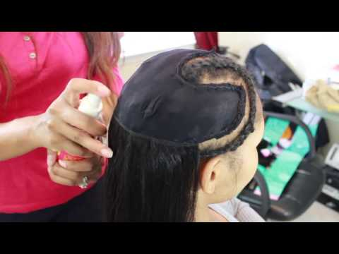 Part 2 Tutorial for Pronto/ Quickweave for High Ponytail