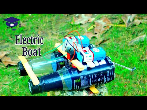 How to make a electric boat at home | with plastic bottle and DC motor