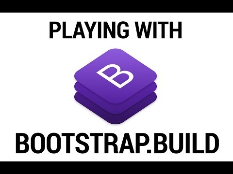 Creating a Bootstrap 4 Flat Theme with Bootstrap.build